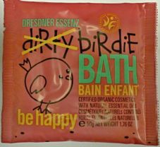 Be Happy Red - Dirtie Birdie Organic Bath Salts - Sachet 50g